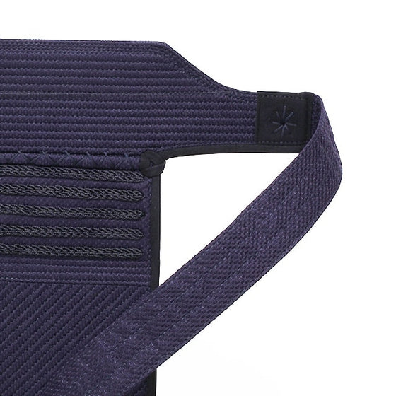 Close-up of the tetknit obi for the tare.