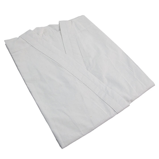 The white uniform when folded.