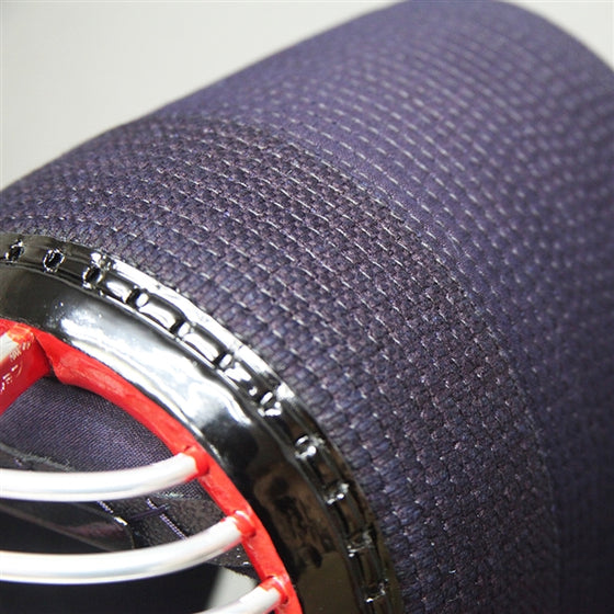 Close-up of the orizashi cotton reinforcement on the tenho model.