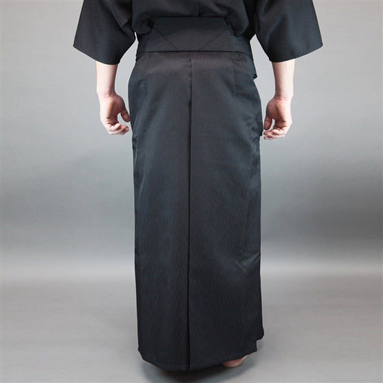 The hakama seen from the back when worn.