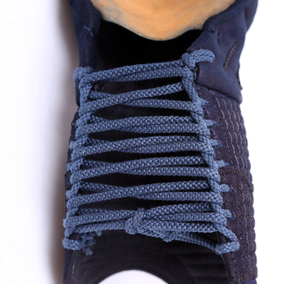 Close-up of the kote himo laces.