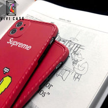 Load image into Gallery viewer, supreme Style Silica gel  Protective Designer Iphone Case For Iphone 12 Pro Max Mini.