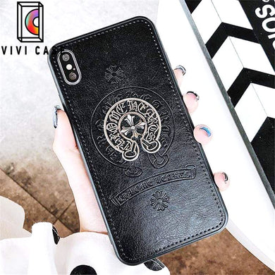 Best Luxury Style Crowe Heart Retro Designer iPhone Case For Iphone 11 Pro Max X XS XS MAX XR 7 8 Plus.