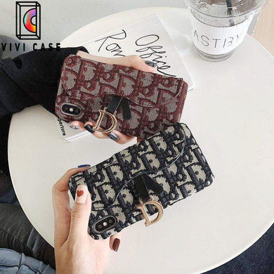 Fashion Dior Style Embroidery Letters Designer iPhone Case For Iphone 11 Pro Max X XS XS MAX XR 7 8 Plus.