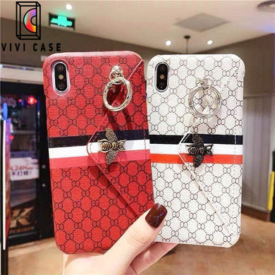 Fashion Gucci Style Bee Card Package Designer iPhone Case For Iphone 11 Pro Max X XS XS MAX XR 7 8 Plus.
