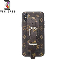 Load image into Gallery viewer, Fashion Louis Vuitton LV Style Wristband Imitation Leather Designer iPhone Case For Iphone 11 Pro Max X XS XS MAX XR 7 8 Plus.