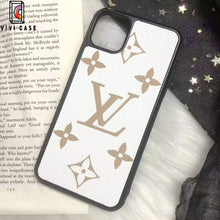Load image into Gallery viewer, Louis Vuitton Style Classic Monogram Leather Designer iPhone Case For iPhone 11 Pro Max X XS XS Max XR 7 8 Plus.