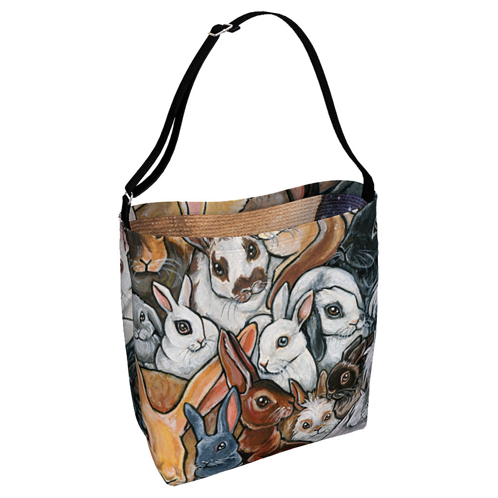 Bunny Lovers Day Tote Bag