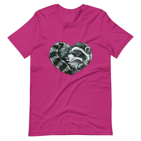 Raccoon Love Premium T-Shirt