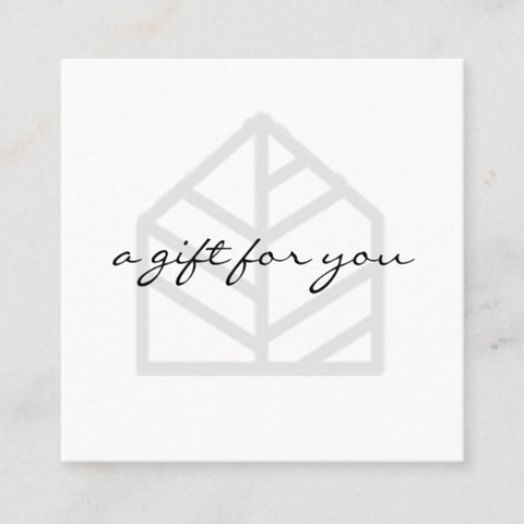 One Room Design Package Gift Card