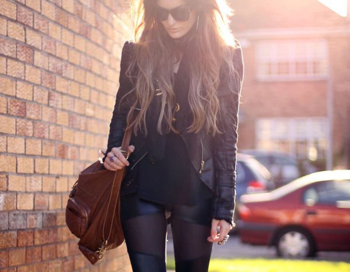 5 Ways to Style Black Leggings