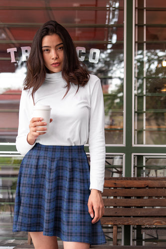 City Tartan Skater Skirt for Women