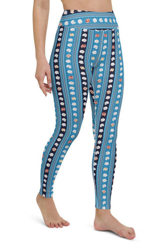 Bohemian Roses Yoga Leggings
