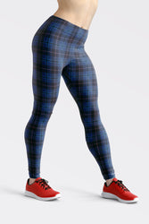Tartan-design-navy-blue-pink-leggings-all-the-time-elegant-classic