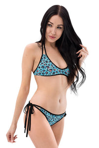 Cool Leopard and Pink Reversible Bikini