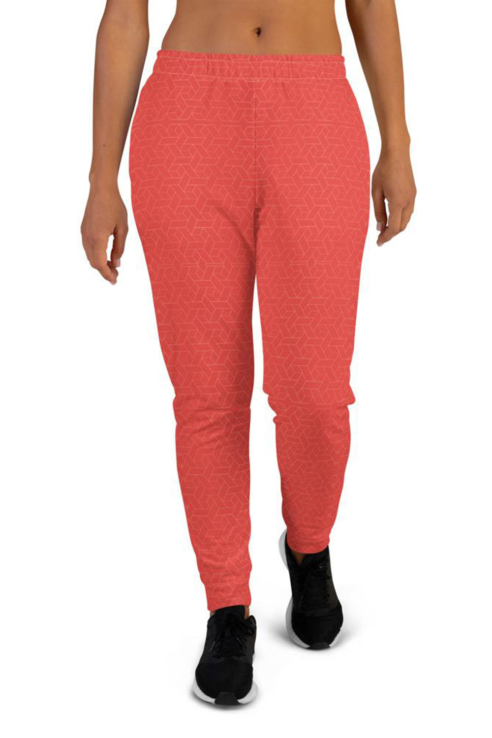coral-red-joggers-for-women