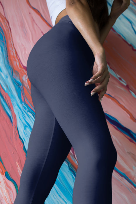 dark-blue-basic-color-yoga-capri-leggings