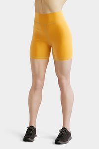mustard-yellow-yogar-shorts-for-women-shop