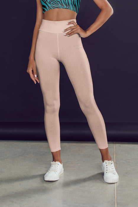 neutral-elegant-peach-pink-leggings-yoga
