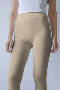 neutral-sand-beige-yoga-capri-leggings