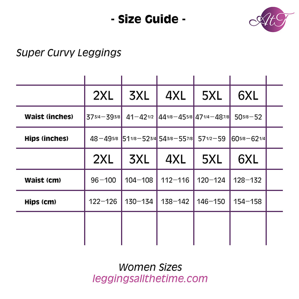 Flora Super Curvy Leggings