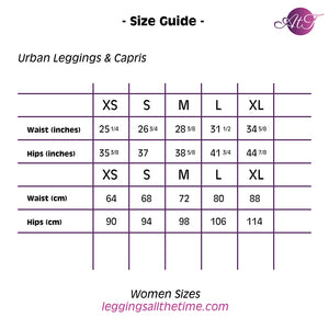 Kawaii Urban Capri Leggings