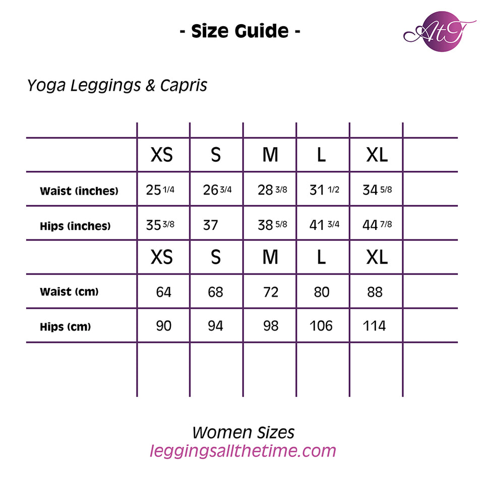 Night Devi Yoga Capri Leggings