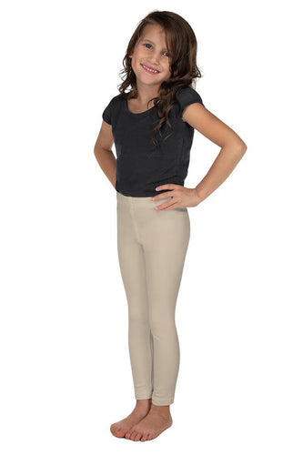 neutral-sand-beige-elegant-kids-leggings
