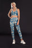 Blues Camo Yoga Leggings