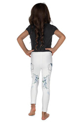 Roses-white-blue-green-gold-kids-leggings
