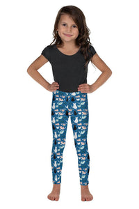 cats-blue-green-black-white-cream-kids-leggings