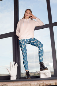 cats-blue-green-black-white-cream-street-urban-capri-leggings