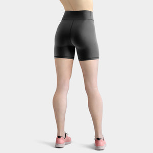 neutral-charcoal-gray-yoga-short