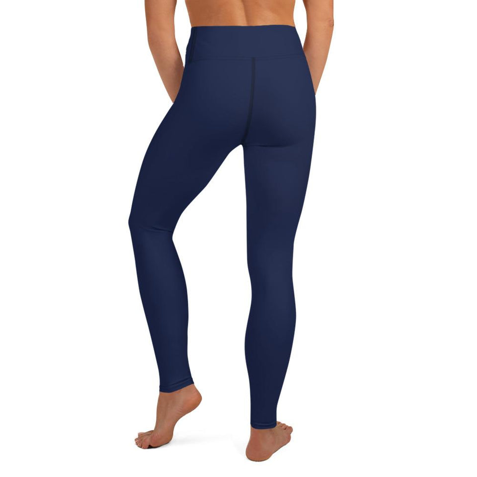 dark-blue-basic-color-yoga-leggings-elegant