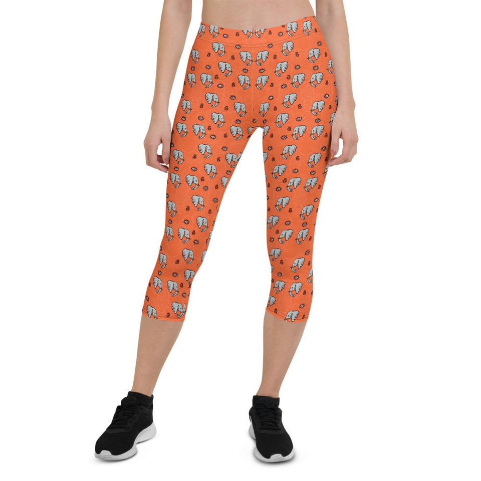 elephant-capri-leggings-for-women-1
