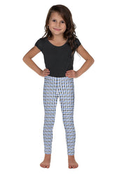 gingham-blue-grey-white-elegant-classic-kids-leggings