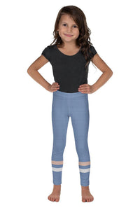 light-blue-cream-ivory-sporty-stripes-elegant-kids-leggings