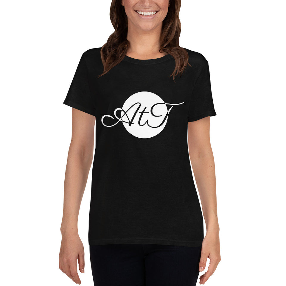 AtT-white-mid-Scoop-Neck-T-shirt-black