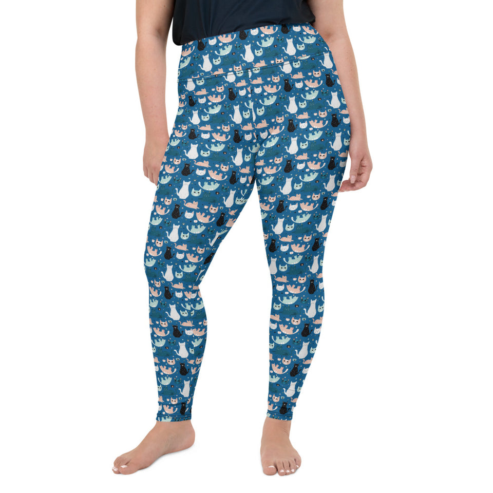 cats-blue-green-black-white-cream-plus-size-leggings-super-curvy