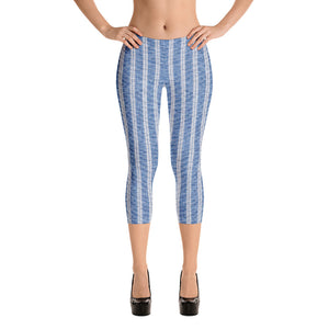linen-print-texture-striped-light-blue-white-design-elegant-leggings-capri-women-1