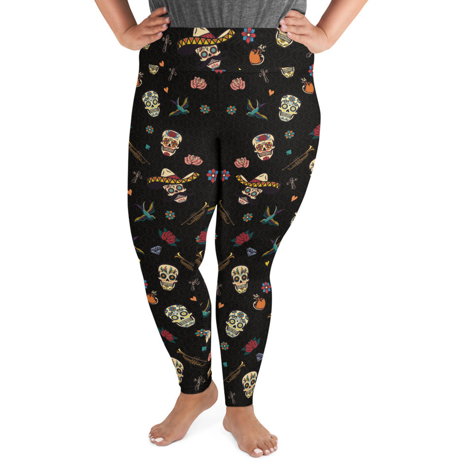 dia-de-los-muertos-death-day-mexico-design-woman-plus-size-leggings-1