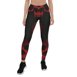 Halloween Red Death Urban Leggings