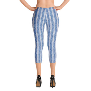 linen-print-texture-striped-light-blue-white-design-elegant-leggings-capri-women-4