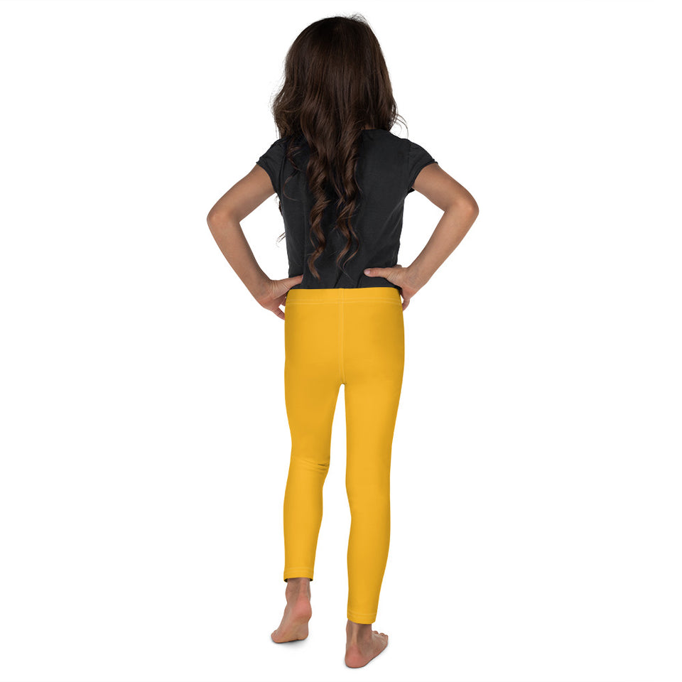 Mustard Yellow Kid's Leggings