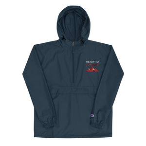 Navy Ready to Conquer Champion Packable Jacket