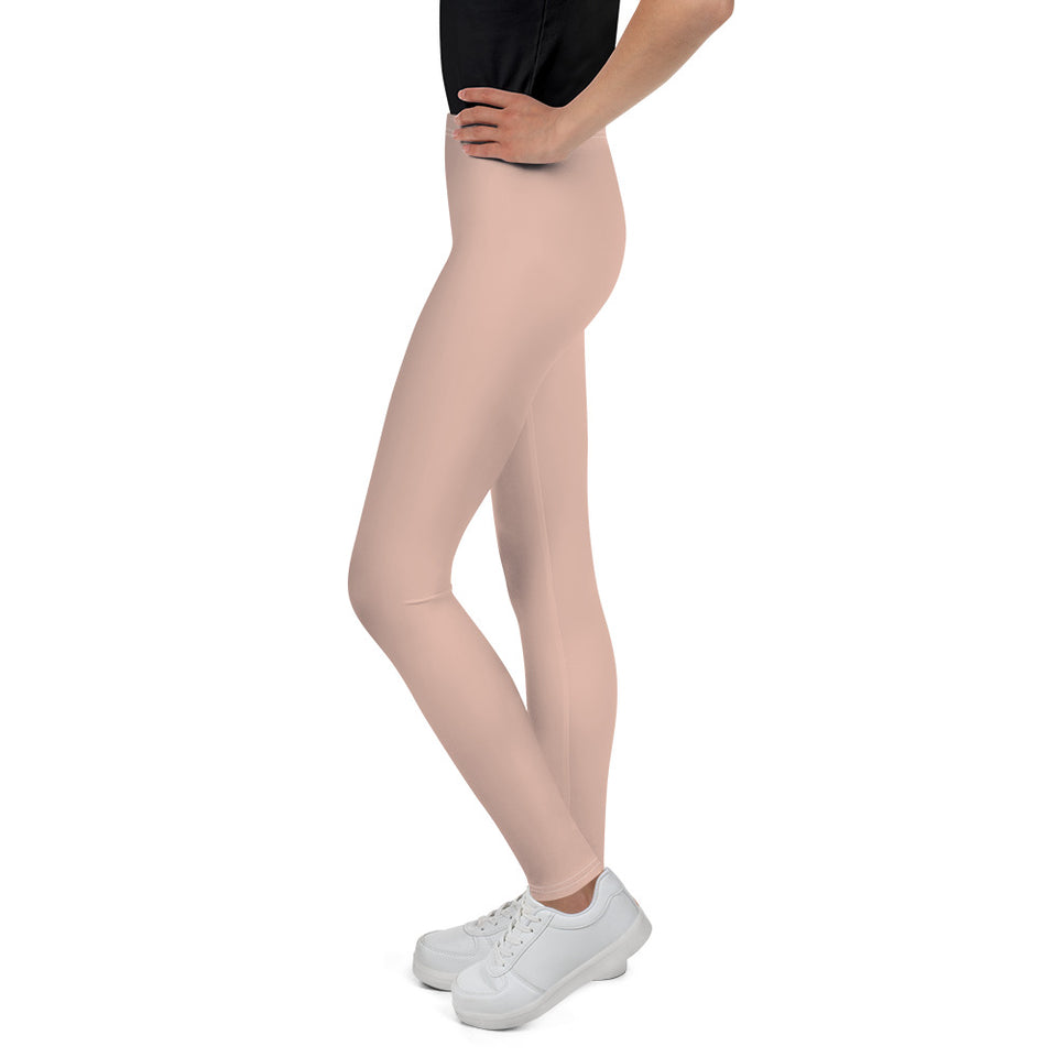 chic-peach-pink-leggings-for-teens