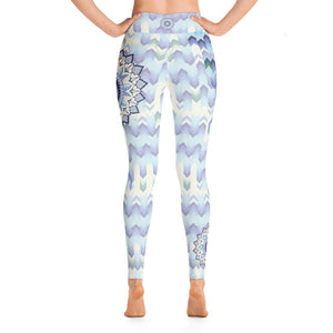 blue-white-green-mandala-geometric-asymmetric-chic-yoga-leggings-for-women-elegant
