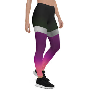 Shine Violet Urban Leggings