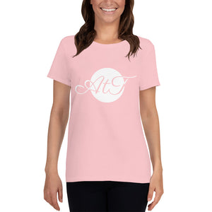AtT-white-mid-Scoop-Neck-T-shirt-pink