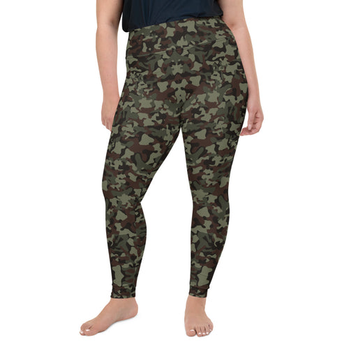 Classic Camo Super Curvy Leggings